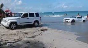 O Camaro Branco que foi parar no Mar... Mas como assim