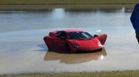 Lamborghini Twin Turbo com mais de 2000 cv vai parar no Lago! Impressionante