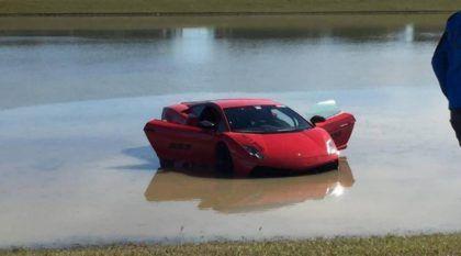 Lamborghini Twin Turbo com mais de 2000 cv vai parar no Lago! Impressionante!