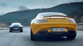 Agora a coisa ficou séria: Mercedes desafiando o Porsche 911 em Comercial Polêmico