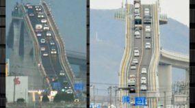 A Ponte mais Estranha do Mundo! Você conseguiria Dirigir nela