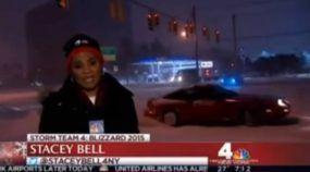 Ao vivo, essa Repórter jamais Imaginaria Passar por Isso e Ficou de Boca Aberta.