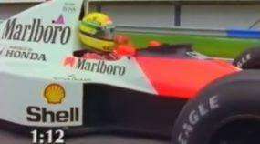 O Dia em que Ayrton Senna e sua McLaren foram desafiados por um Honda e um Porsche! Adivinhe quem venceu