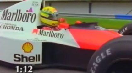 O Dia em que Ayrton Senna e sua McLaren foram desafiados por um Honda e um Porsche! Adivinhe quem venceu?