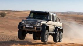 O Insano Mercedes G63 AMG 6x6 no teste Maluco do Top Gear! É de perder o Fôlego