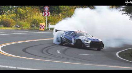 Nissan GT-R em Drift Insano na Serra (outros Super Carros de bônus)