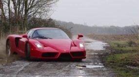 Ferrari Enzo em Rally pela Fazenda? Inacreditável!