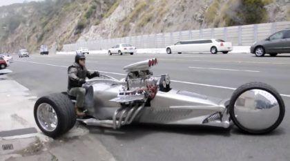 O Triciclo mais Insano que você já viu (Motor V8 de 1200cv)