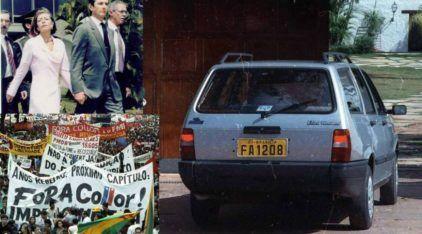 Impeachment: Relembre do simples Carro que foi Decisivo para a Queda de Fernando Collor