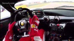 LaFerrari FXX K Acelerando nas Mãos de Sebastian Vettel! E na Pista da Ferrari em Fiorano