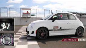 Será que o Fiat 500 Abarth Anda Bem Rubens Barrichello Acelera e Responde