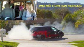 A Mãe e a Minivan (V8 com 550 cv) dos Sonhos das Crianças! Pelo menos Daquelas Loucas por Carros!
