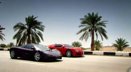 Bugatti Veyron ou McLaren F1? Super Esportivos lendários duelam a 300 km/h. Quem ganha?