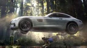 Mercedes-AMG GT S: O Melhor Comercial de Carro do Super Bowl XLIX - 2015