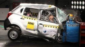 Veja os (Extremamente Assustadores) Testes de Colisão dos Carros na Índia. Imagens Impressionantes