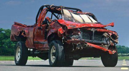 A lendária Toyota Hilux (imortal) que sobreviveu ao Massacre extremo do Top Gear