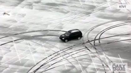 Loucura no Estacionamento! Você Teria Coragem de Fazer isso com um Mercedes?