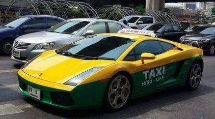 Taxi Lamborghini? A chance de Ouro para dar uma volta num Gallardo!
