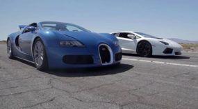 Ufa! Bugatti Veyron Desafia Lamborghini Aventador, Lexus LFA e a McLaren MP4-12C