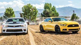 Ford Mustang GT ou Chevrolet Camaro SS? Assista a esse Tira-Teima Incrível!