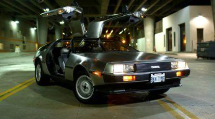 DeLorean: Um Clássico de Todos os Tempos! Veja o Carro deste Feliz Proprietário!