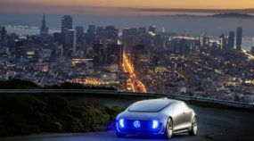 O Carro do Futuro da Mercedes-Benz rodando em São Francisco! Imagens Fascinantes do F 015 Luxury!
