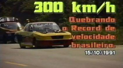 Acelerar um Opala a mais de 300 km/h na Rodovia Rio-Santos? Você teria Coragem?