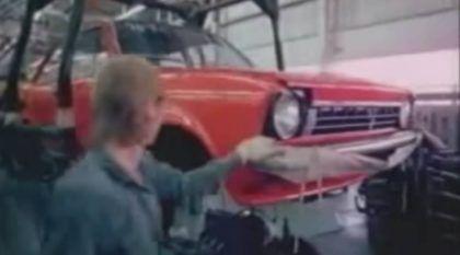 Túnel do Tempo: Veja Imagens da Linha de Montagem do Chevette em 1974! Vídeo Histórico!