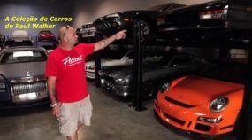 Vídeo revela a Coleção Pessoal de Carros do Paul Walker! Essas foram as Últimas Imagens!