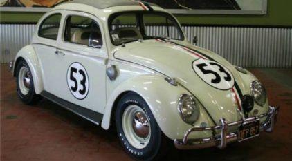 Herbie, o Fusca mais Famoso do Mundo foi leiloado! Veja Imagens deste Clássico dos Clássicos!