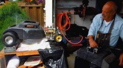 Este Homem Levou Anos para Criar uma Incrível Miniatura de Ford 34, com Motor V8 (que funciona) e Rádio Controle!