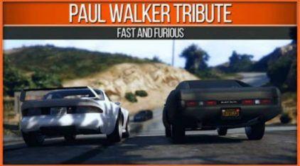 Top: Os Fãs de Jogos vão ficar Alucinados neste Tributo ao Paul Walker feito no GTA 5