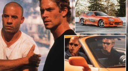 Atenção: O Toyota Supra, Dirigido pelo Paul Walker no primeiro Velozes e Furiosos, vai a leilão! Veja as Imagens do Carro!