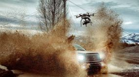 Toyotas na Lama no Primeiro Vídeo Super-HD feito por Drone! Veja os Detalhes Incríveis nas Imagens!