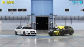 Guerra de Paintball entre duas peruas Audi RS4 Avant (Que Ideia!)