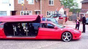 A Limousine mais Rápida do Mundo é (baseada numa) Ferrari 360 Modena! Inacreditável essa Insanidade!