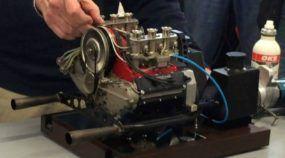 Incrível: Motor Porsche em Miniatura (Escala 1/3) Acelera Forte a Mais de 12.000 RPM!