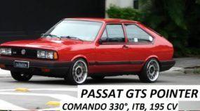 Clássicos Brasileiros: VW Passat GTS Pointer de quase 200 cv (Impecável!)