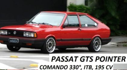 Lendas Brasileiras: VW Passat GTS Pointer de quase 200 cv (Impecável)