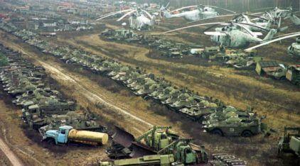Cemitério de Veículos Radioativos? Veja como ficaram os Abandonados em Chernobyl! Impressionante!