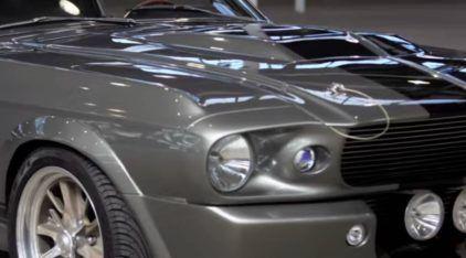 """Mito do Cinema! Veja em Detalhes e Relembre do Clássico Mustang Eleanor do """"60 Segundos""""!"""