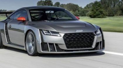 Brutal! Conheça o Novo Audi TT Clubsport com Impressionantes 600 cv e dois Turbos (Imagine como deve ser Acelerar este Monstro!)