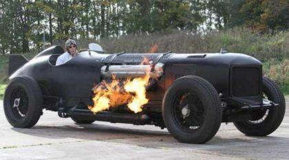 Insano e Brutal! Bentley-Packard com Motor V-12, de 42 litros e mais de 1.500cv (Cuspindo fogo por todos os lados)!