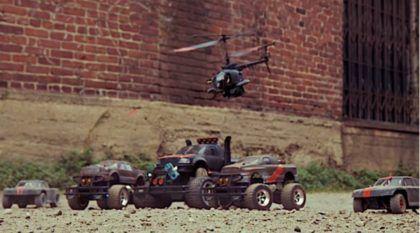 Hora de Diversão: Mini-Filme mostra Épica Aventura de Carros e Drones com Rádio-Controle (É Emocionante do início ao fim)!