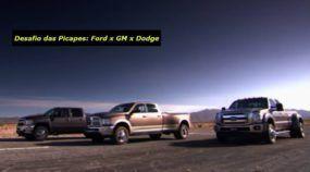 Desafio na Arrancada: Qual é a Caminhonete mais Rápida dos Estados Unidos? Chevrolet, Ford ou Dodge?