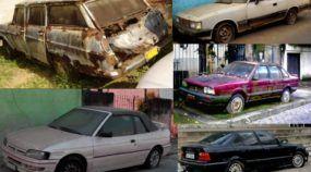 Lastimável! Veja alguns (tristes) carros abandonados no Brasil, incluindo raridades!