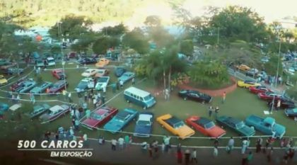 O Maior e Melhor Evento de Carros Antigos do Brasil! Verdadeiros Clássicos de todos os Tipos juntos!