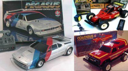 Nostalgia Pura: Pégasus, Colossus e Máximus, os Carrinhos de Controle Remoto da Estrela que Marcaram os Anos 80!