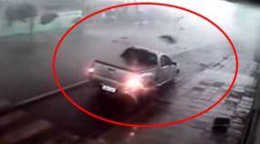 Reveladas Imagens (bem Assustadoras!) de uma Montana enfrentando o Tornado em Santa Catarina!