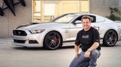 Top! Novo Mustang, com 810cv, especialmente preparado pelo Lendário Chip Foose (E ele vai dar o Carro…)!
